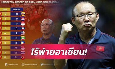 Báo chí Thái Lan khẳng định bất ngờ về HLV Park Hang Seo
