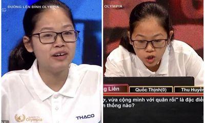 Nữ sinh Hà Nội phá liền một lúc 2 kỷ lục Đường Lên Đỉnh Olympia là ai?