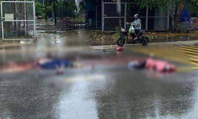 Hà Nội: Va chạm kinh hoàng với xe tải, 2 vợ chồng đi xe máy tử vong thương tâm