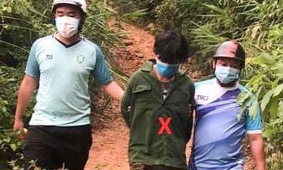 Bắt đối tượng trốn truy nã tại vùng núi Đà Nẵng: Sống dưới