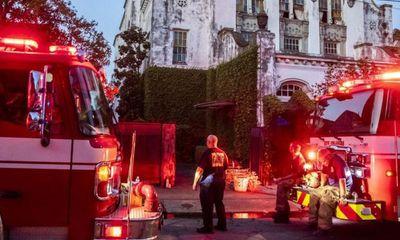 Biệt thự của Beyoncé bốc cháy dữ dội: Cảnh sát phát hiện 1 người khả nghi