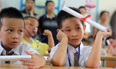 Sở GD&ĐT Hà Nội cho phép học sinh lớp 1, 2 không phải làm bài kiểm tra cuối năm