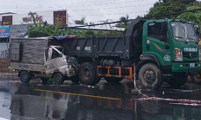 Tin tức tai nạn giao thông ngày 10/8:Tài xế ở Tiền Giang tử vong sau cú tông mạnh vào đuôi xe ben