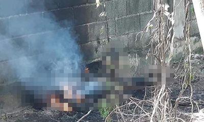 Vụ thi thể người đàn ông cháy đen trong nghĩa trang: Hai bức tâm thư tại hiện trường ghi gì?