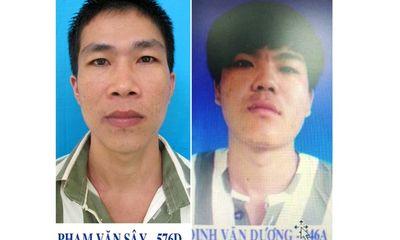 Tin tức pháp luật ngày 17/9: Khẩn trương truy bắt 2 phạm nhân mang án giết người, cướp tài sản trốn trại giam
