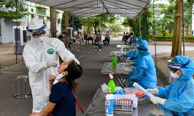 Sáng 22/9, Hà Nội ghi nhận 1 ca dương tính SARS-CoV-2 tại quận Thanh Xuân