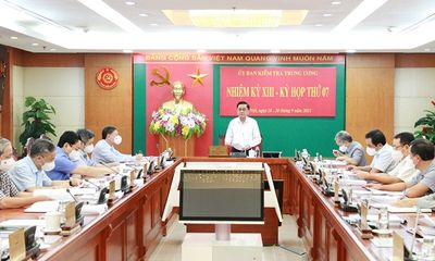 Kỷ luật cảnh cáo Trung tướng Nguyễn Quang Đạm, nguyên Tư lệnh Cảnh sát biển Việt Nam