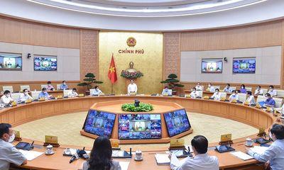 Thủ tướng Phạm Minh Chính chủ trì phiên họp Chính phủ thường kỳ tháng 9
