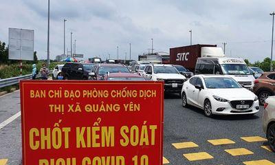 Quảng Ninh lên phương án đón người dân về từ vùng dịch