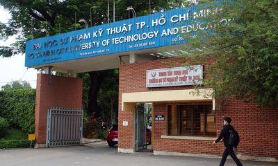 ĐH Sư phạm Kỹ thuật TP.HCM thông báo cho sinh viên học tập trung từ 1/11
