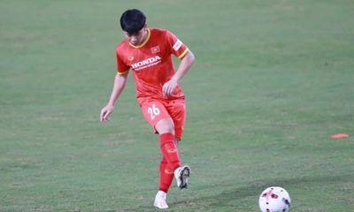 Minh Vương báo tin vui cho HLV Park Hang Seo trước trận tuyển Việt Nam gặp Nhật Bản