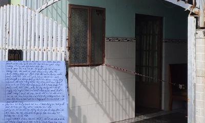 Hai mẹ con tử vong tại phòng trọ ở Bà Rịa - Vũng Tàu: Thư tuyệt mệnh ghi gì?