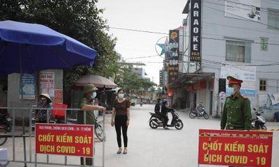 Bắc Giang: Huyện Việt Yên giãn cách xã hội từ 18h ngày 15/5