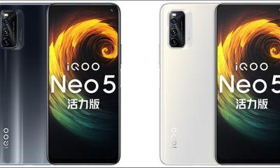 Tin tức công nghệ mới nóng nhất hôm nay 24/5: Lộ ảnh render của iQOO Neo5 Vitality Edition