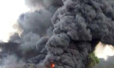 Nổ xe bồn chở xăng ở Nigeria, ít nhất 64 người bị thương