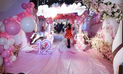 Choáng ngợp trước bữa tiệc sinh nhật 12 tuổi hoành tráng như đám cưới của cô bé Trung Quốc