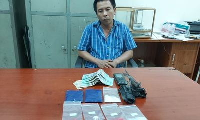 """Triệt xóa tụ điểm bán lẻ ma túy """"kiêm"""" tổ chức đánh bạc ở Nghệ An"""