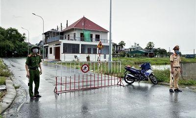 TP Hà Tĩnh phong tỏa 15 điểm trên 4 trục đường chính