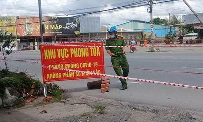 Tiền Giang: Phong tỏa xã Mỹ Hạnh Đông từ 12h ngày 13/6