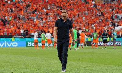 Frank De Boer từ chức HLV trưởng tuyển Hà Lan sau thất bại tại EURO 2020