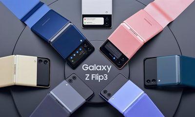 Tin tức công nghệ mới nóng nhất hôm nay 6/7: Lộ giá bán của Samsung Galaxy Z Flip3
