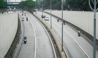 Cấm lưu thông một chiều hầm Kim Liên 30 ngày để sửa chữa