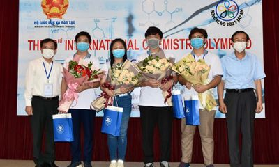 Việt Nam giành 3 Huy chương vàng tại Olympic Hóa học Quốc tế 2021
