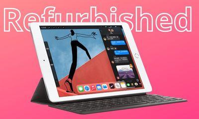 Tin tức công nghệ mới nóng nhất hôm nay 13/8: Apple bán iPad thế hệ thứ 8 được tân trang lại