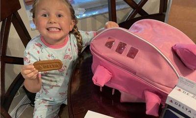 Tin tức đời sống ngày 16/8: Trùng tên với hãng bay Delta, bé 3 tuổi được tặng quà