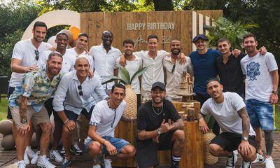 Lionel Messi tham dự sinh nhật đồng đội mới ở PSG