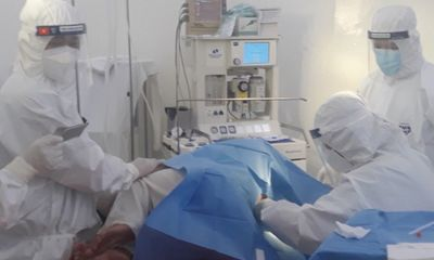 Mổ cấp cứu thành công cho sản phụ mắc COVID-19 ở Đồng Tháp
