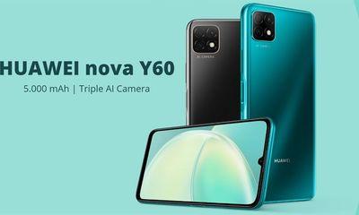 Tin tức công nghệ mới nóng nhất hôm nay 27/8: Huawei Nova Y60 ra mắt với giá 4,7 triệu đồng