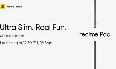 Tin tức công nghệ mới nóng nhất hôm nay 4/9: Realme Pad được ấn định thời điểm ra mắt