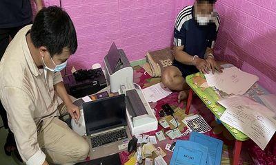 Triệt phá đường dây mua bán, làm giả giấy tờ ở Quảng Nam