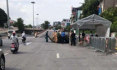 Tháo dỡ 39 chốt kiểm soát dịch trong phân vùng 1 ở Hà Nội
