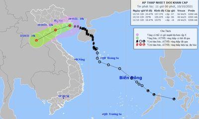 Bão số 7 suy yếu thành áp thấp nhiệt đới, bão Kompasu tiến nhanh vào biển Đông