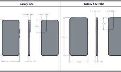 Tin tức công nghệ mới nóng nhất hôm nay 18/10: Lộ sơ đồ thiết kế của dòng Samsung Galaxy S22