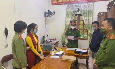 """Nghệ An: Bắt tạm giam nữ kế toán xã Khai Sơn """"ăn chặn"""" tiền hỗ trợ thiên tai"""