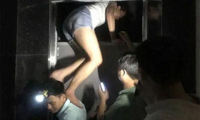 Điều tra vụ cô gái rơi từ hố thang máy tầng 7 xuống tử vong tại Hà Nội