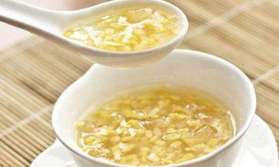 Công thức nấu chè đậu xanh đơn giản nhưng không kém phần thơm ngon, bổ dưỡng