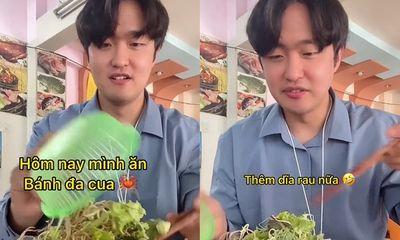 Video: Review món ăn Việt, anh chàng người Hàn được khen hết lời nhờ chi tiết đặc biệt này