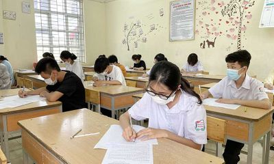 Sở Giáo dục và Đào tạo Hà Nội lấy ý kiến điều chỉnh thời gian làm bài thi vào lớp 10
