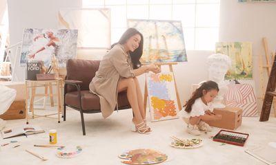 Trà Ngọc Hằng khoe niềm hạnh phúc làm mẹ bên cạnh con gái nhỏ