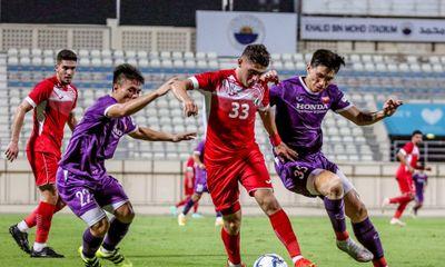 Văn Toản cản phá xuất thần, tuyển Việt Nam hòa Jordan 1-1 trong trận giao hữu