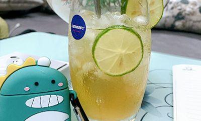 Trà chanh tươi chua ngọt, thức uống gây nghiện ngày hè