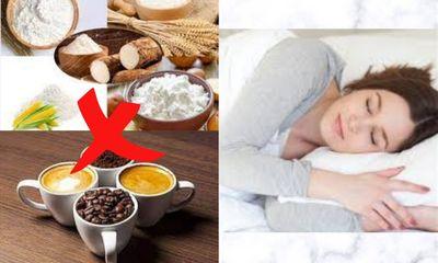Những thói quen cần tránh để có một giấc ngủ ngon