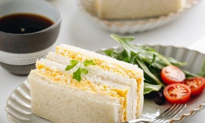 Bánh mì sandwich trứng kiểu Nhật béo ngậy hấp dẫn