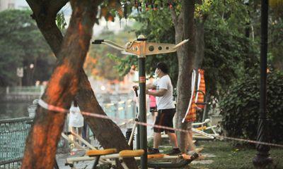 Tin trong nước - Hà Nội: Phạt từ 1 đến 3 triệu nếu ra đường khi không cần thiết