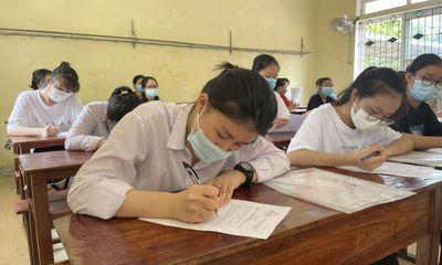 13 thí sinh Hà Tĩnh ra Bắc Giang tham dự kỳ thi tốt nghiệp THPT 2021