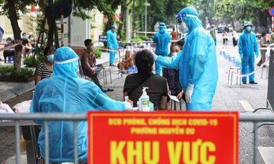 Trưa 21/8, Hà Nội ghi nhận thêm 21 ca mắc COVID-19, trong đó có 9 ca tại cộng đồng